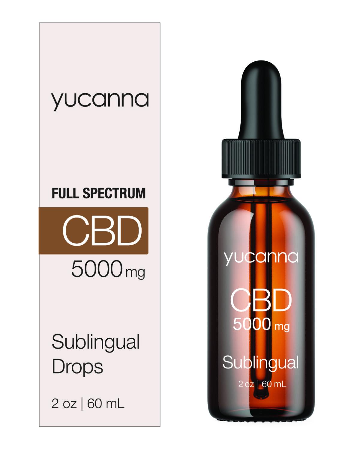 Yucanna Simple and Powerful CBD 5000 mg with Box